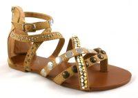 Chix Beaded Gladiator Sandals - £15.99