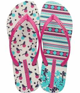 Ipanema Unique II Pink Robin Womens Flip Flops - £17.99