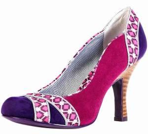 Ruby Shoo Portia Purple Pink Court Shoes - £44.99