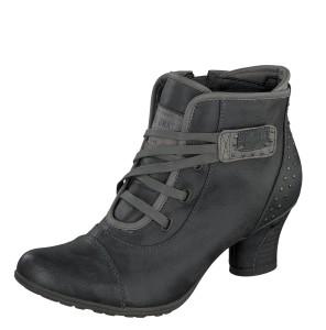 Mustang 1156-601 Women's Graphite Grey Mid Heel Ankle Boots - £59.99